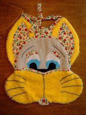 Bavaglione bavaglino bavaglia coniglio 4