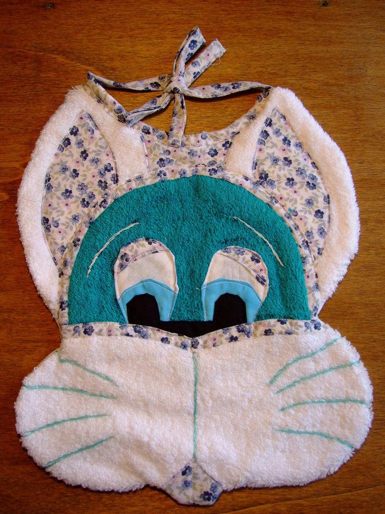 Bavaglione bavaglino bavaglia coniglio 7