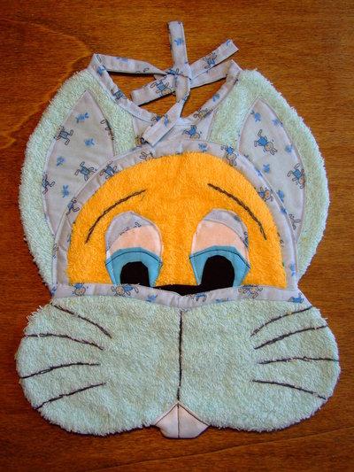 Bavaglione bavaglino bavaglia coniglio 11