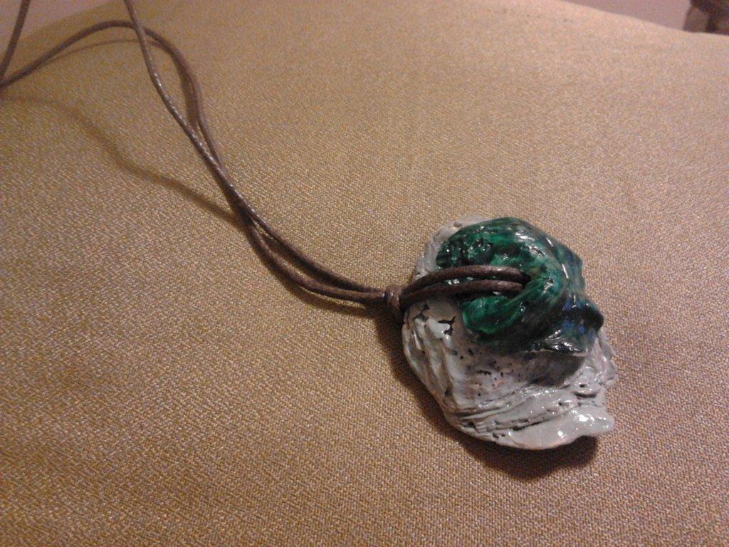 collana realizzata con le conchiglie