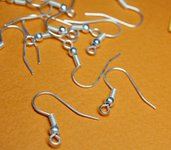 10 monachelle Silver Plated - 10 silver plated Hooks
