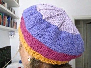 Basco per donna e bambino righe lana