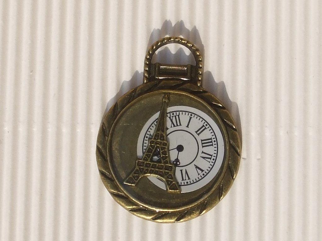 1 maxi charm orologio bronzo 35x45mm