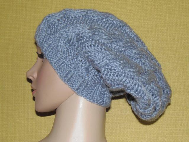 OCCASIONE cappello lana grigio
