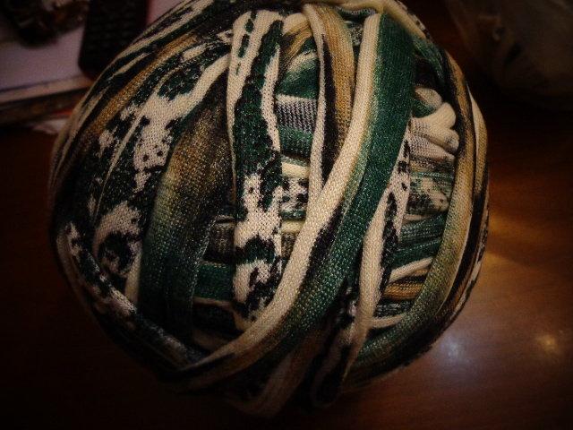 Fettuccia cotone effetto lanato fantasia 1