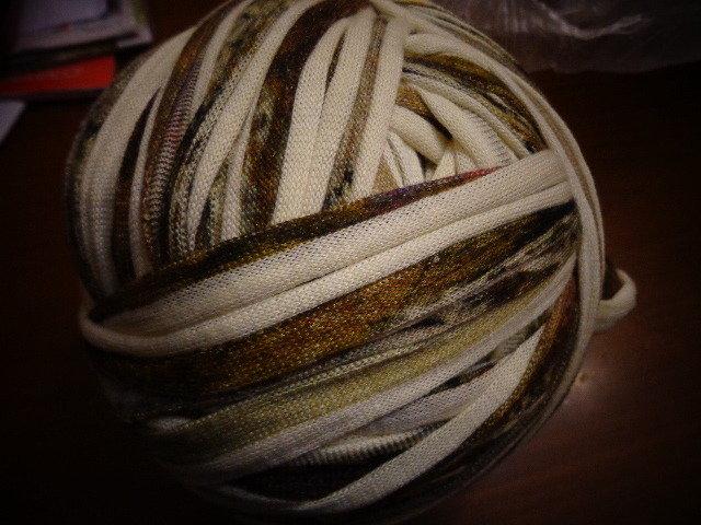 Fettuccia cotone effetto lanato fantasia 3