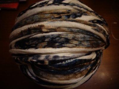 Fettuccia cotone effetto lanato fantasia 5