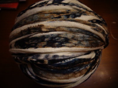 Fettuccia cotone effetto lanato fantasia 6
