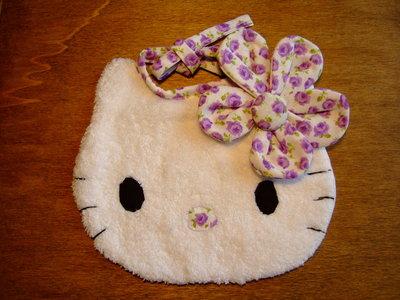 Bavaglione bavaglino bavaglia gattino piccolo 8