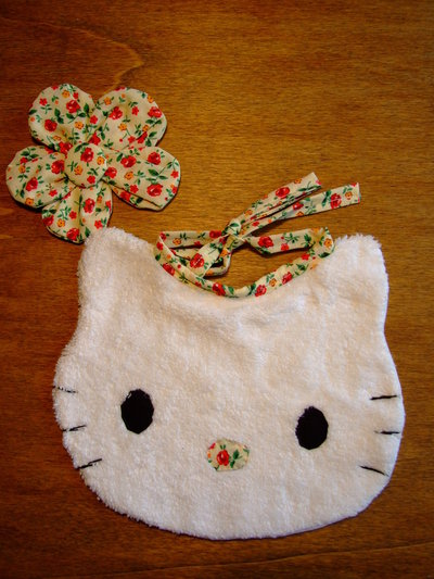 Bavaglione bavaglino bavaglia gattino piccolo 14
