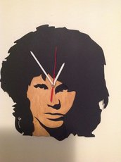 Jim Morrison Freddy Mercury orologio parete wall clock queen doors music leggend