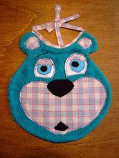 Bavaglione bavaglino bavaglia orso 1