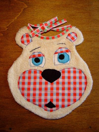 Bavaglione bavaglino bavaglia orso 2