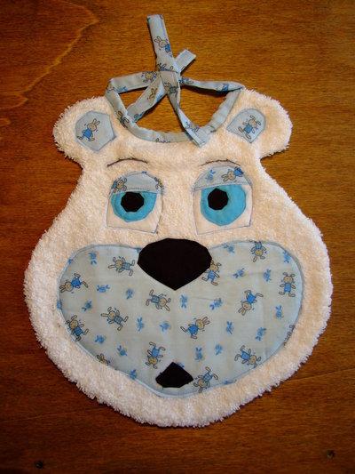 Bavaglione bavaglino bavaglia orso 3