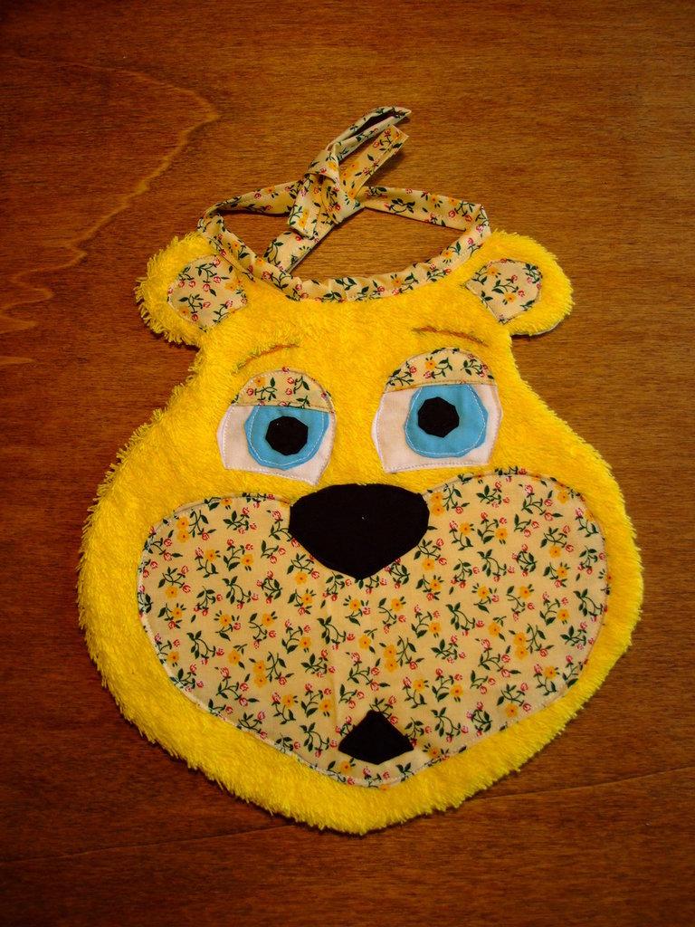 Bavaglione bavaglino bavaglia orso 4