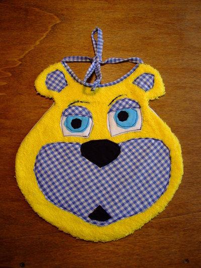 Bavaglione bavaglino bavaglia orso 6