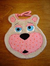 Bavaglione bavaglino bavaglia orso 8