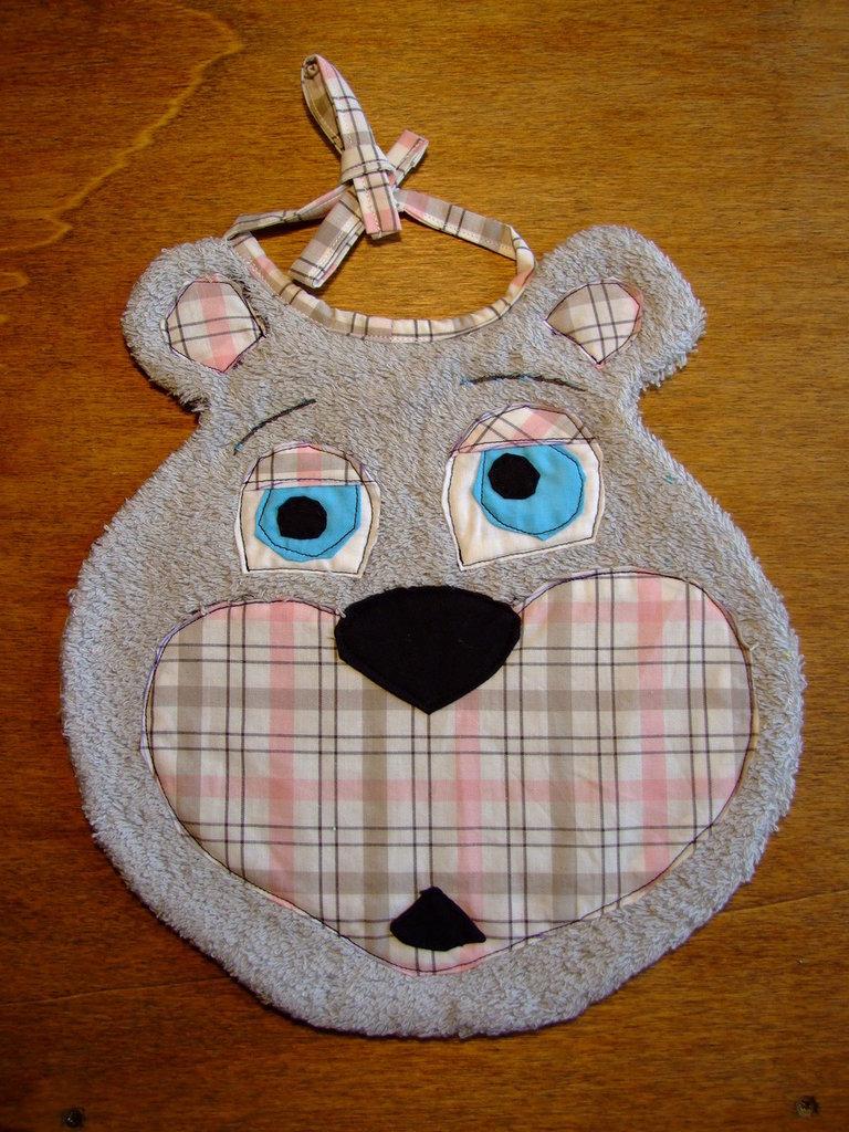 Bavaglione bavaglino bavaglia orso 9