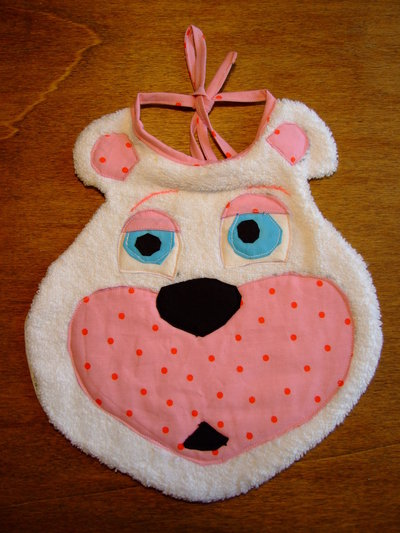 Bavaglione bavaglino bavaglia orso 10