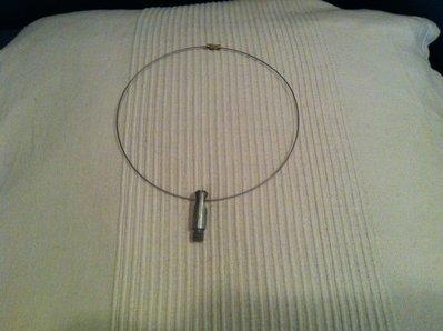 collier con monili acciaio e/o ottone
