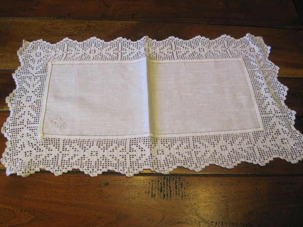 centro bianco misto lino