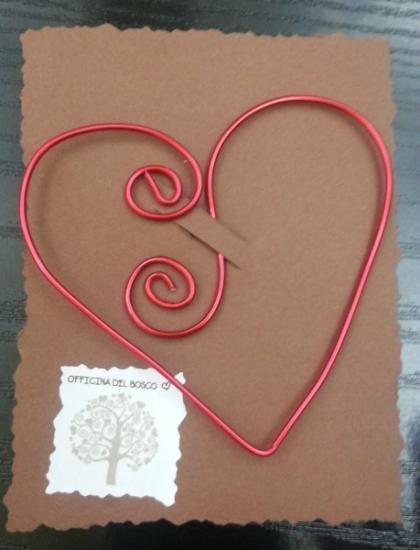 segnalibro cuore spirale