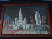 Quadro Madonna di Lourdes