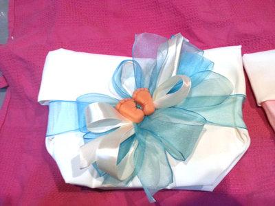 sacchetto confettata nascita battesimo