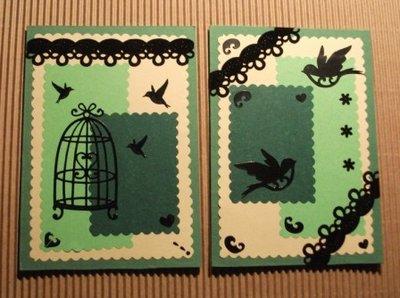 Biglietti per varie occasioni - Green & Bird Version^^