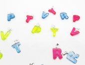 Lettere colori vari sconto 50% da 50 pz