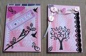 Biglietti per varie occasioni - Sweet Pink & Bird Version^^