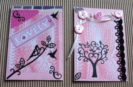 Biglietti per varie occasioni - Sweet Pink & Bird Version^^