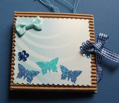 Idea Regalo 2! Mini Album Post-it PortaAppunti - Blue Notes in Scrap^^