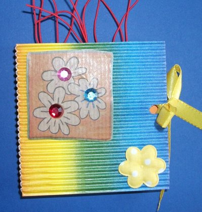 Idea Regalo 3! Mini Album Post-it PortaAppunti - Rainbow Notes in Scrap^^