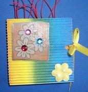 Idea Regalo 3! Mini Album Post-it PortaAppunti - Rainbow Notes in Scrap^^
