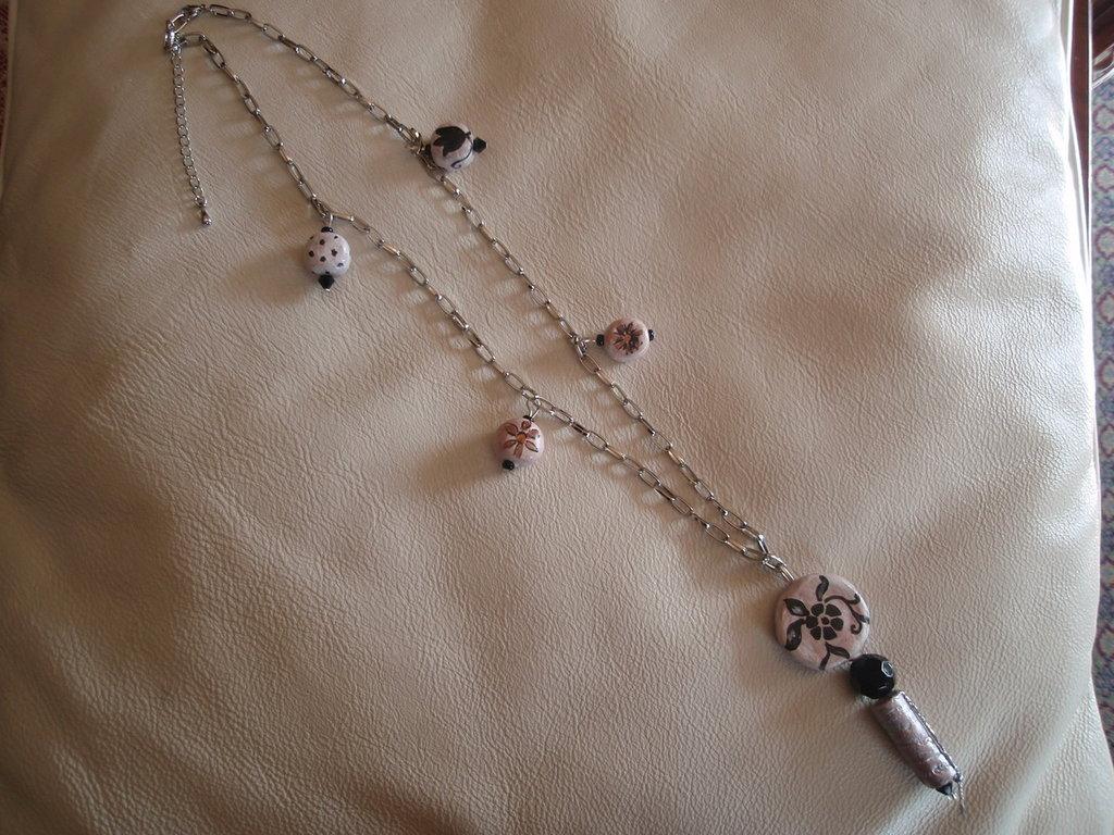 Collana con perle fatte a mano