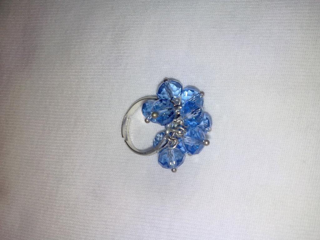 anello con swarovski