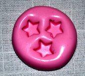 Stampini silicone 3 stelle