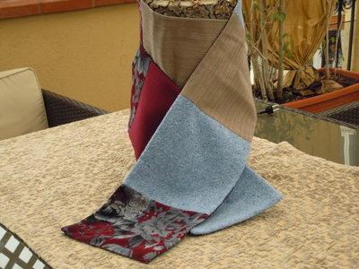 "Sciarpa ""patchwork Inverno"""