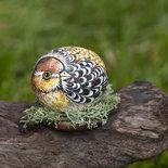 Dipinto su pietra uccellino opera d 39 arte idea regalo for Oggetti usati in regalo