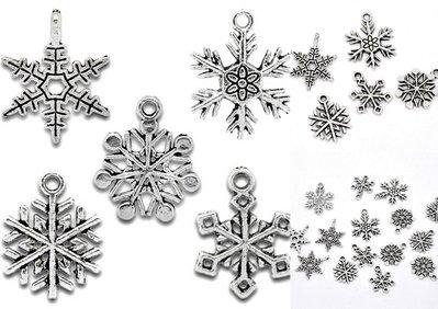 Ciondoli Fiocco di Neve
