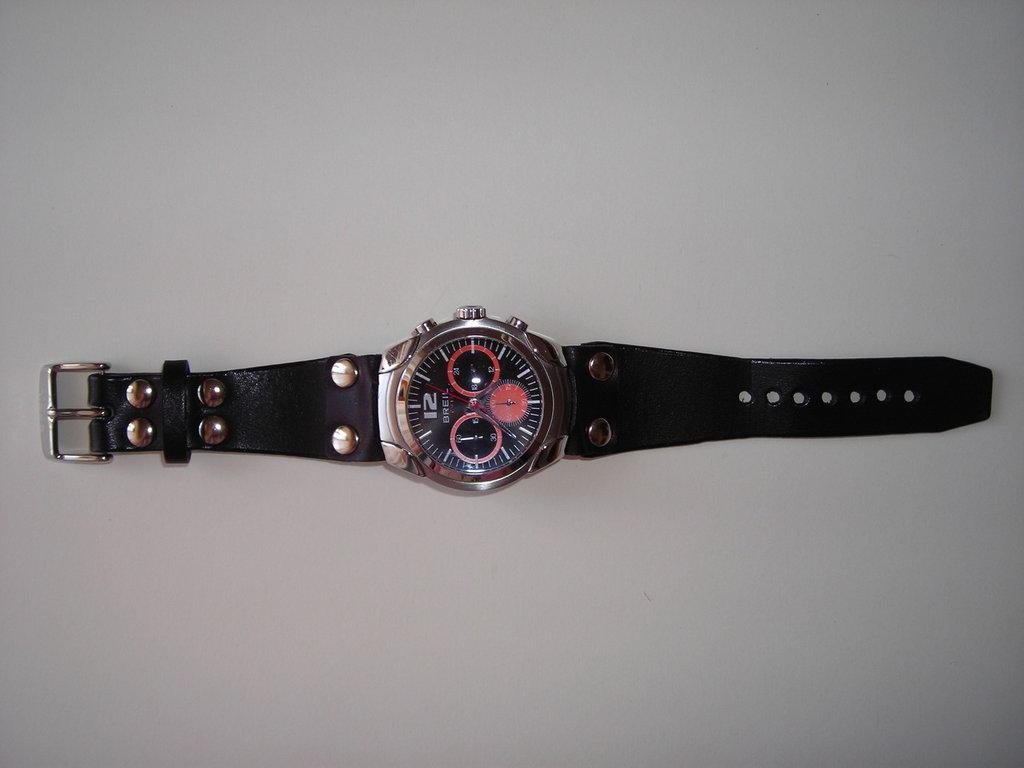 cinturino  bracciale in pelle cuoio per orologio personalizzabile