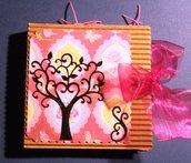 Idea Regalo 5! Mini Album Post-it PortaAppunti - Pink Notes in Scrap^^