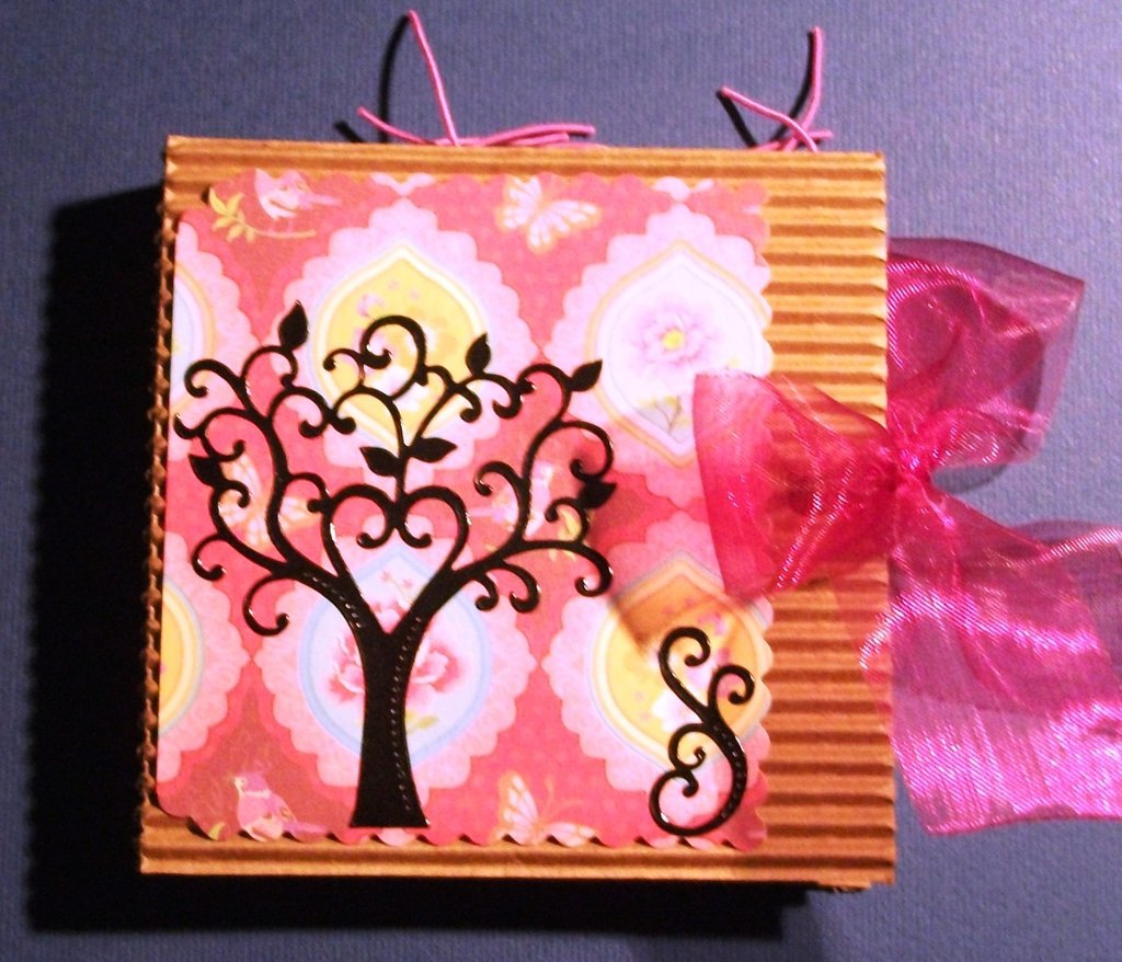 Idea Regalo 5! Mini Album Post-it PortaAppunti - Pink Notes in Scrap^^