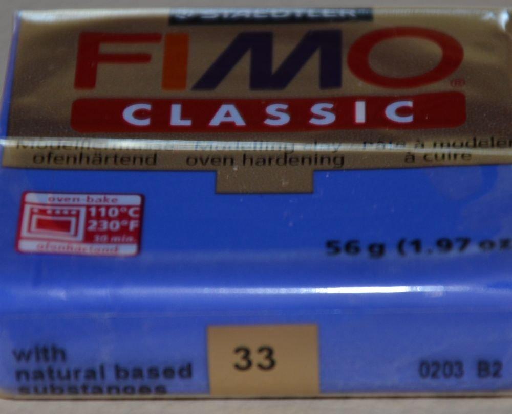 FIMO CLASSIC BLU INTENSO N.33