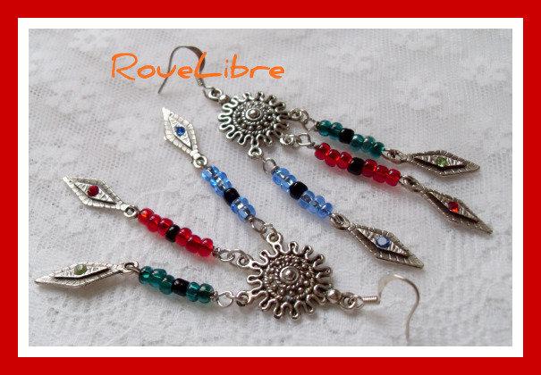 """Boucles d'Oreilles  """"  Cheyennes """""""