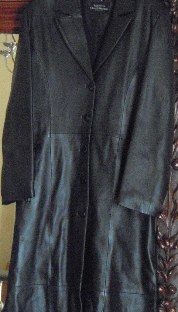 low priced 7cbd9 e5761 Cappotto lungo pelle donna