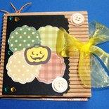 Idea Regalo 7! Mini Album Post-it PortaAppunti - Halloween Notes in Scrap^^