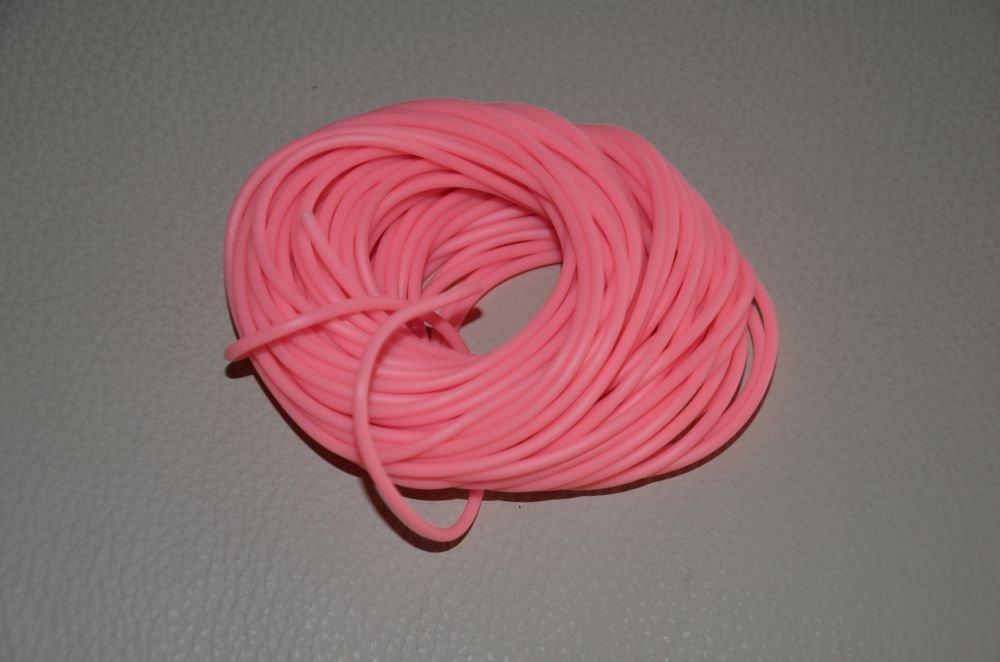 Filo caucciù rosa