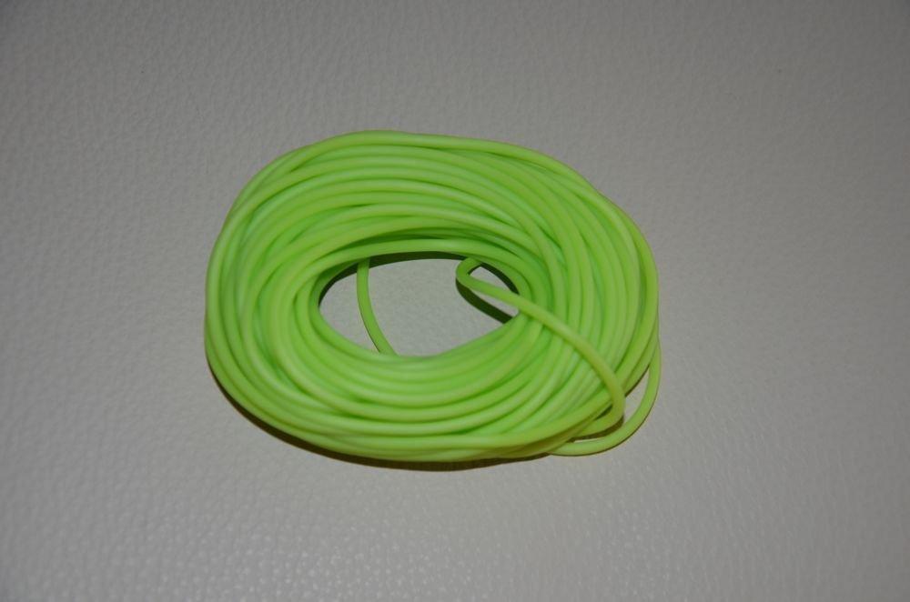 Filo caucciù verde chiaro
